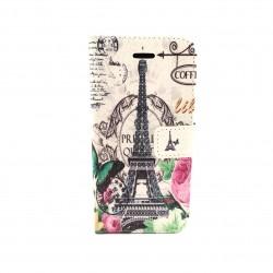 Samsung Galaxy S4 Mini case with wallet - Paris