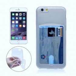 iPhone 6+/6S+ funda con tarjetero - Azul