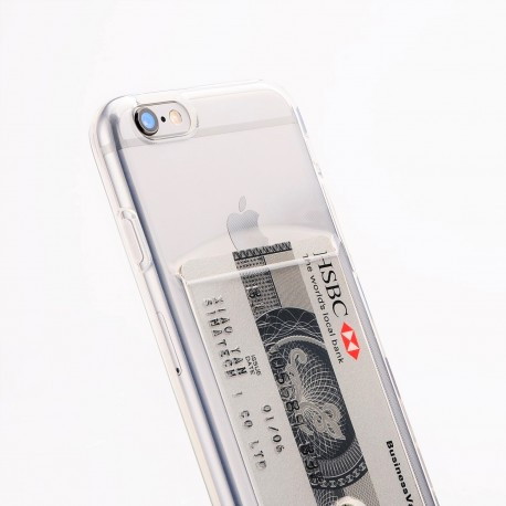 Silicone case with card holder Iphone X